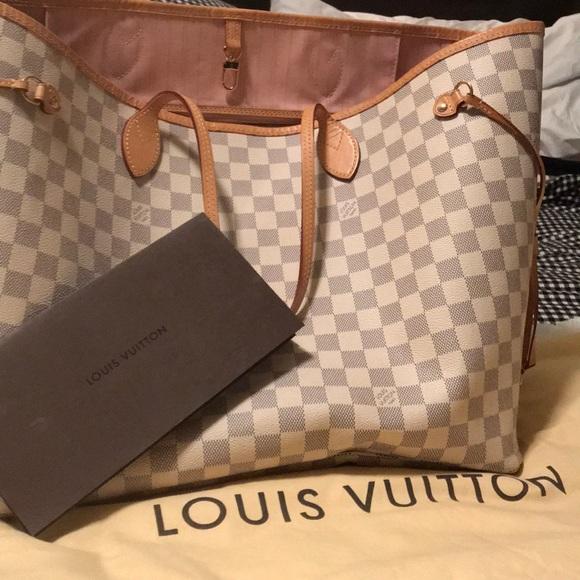 Louis Vuitton Bags Lmtd Edition Pink Inside Lv Neverfull Poshmark